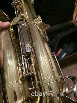 Yamaha YTS-23 Tenor Saxophone Sax Used With Case Very Nice