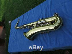 Yamaha YTS-23 tenor Sax Very Clean condition Shiny Mouthpiece case No reserve