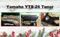 Yamaha YTS-26 Standard Bb Tenor Saxophone Lacquer With Nickel Keys. WithCase