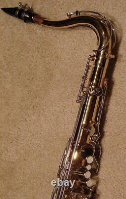Yamaha YTS-26 Tenor Saxophone, Yamaha Hard Case, Vandoren Mouthpiece