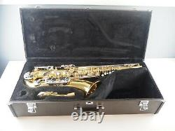 Yamaha YTS-26 Tenor Saxophone with neck and case NO MOUTHPIECE Serviced Used