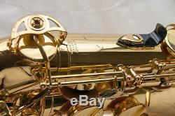 Yamaha YTS-475 Intermediate Tenor Saxophone, Durable Case, Beautiful