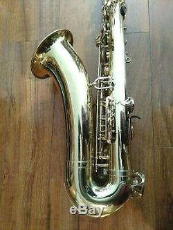 Yamaha YTS 475 Step-Up Tenor Saxophone w Hard Case and Selmer Paris Mouthpiece