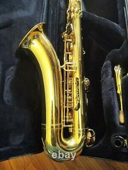 Yamaha YTS -475 Steps-Up Tenor Saxophone with Original Yamaha Hard Case
