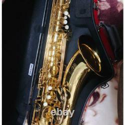Yamaha YTS-475 Tenor Sax Saxophone Musical Instrument w / Hard Case