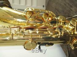 Yamaha YTS-52 Tenor Saxophone Sax With Original Case VERY NICE JAPAN