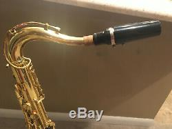 Yamaha YTS-52 Tenor Saxophone with case, strap, and stand. Serial # 005795A