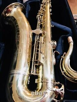 Yamaha YTS-61 Pro Tenor Saxophone With Case Upgrade Playing Condition