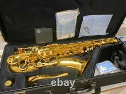 Yamaha YTS-62 Tenor Saxophone Gold Lacquer with Hard Case Good Condition
