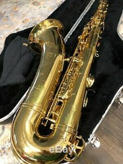 Yamaha YTS-62 Tenor Saxophone with Hard Case Made in Japan