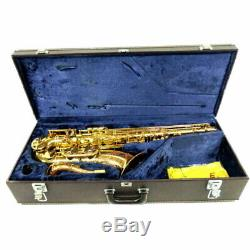 Yamaha YTS-62 YTS62 Tenor Saxophone Sax Bb Serviced Tested Used With Hard Case
