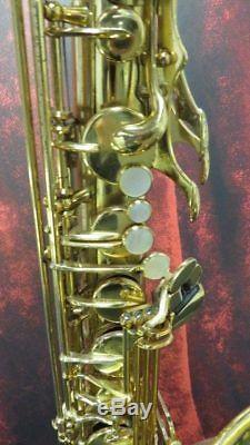 Yamaha YTS-62 professional tenor saxophone with original case