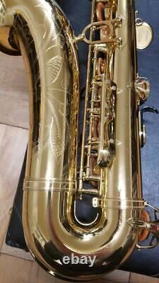 Yamaha YTS-875 Tenor Saxophone Custom with Original Case Good Condition