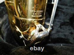 Yamaha Yts-200ad Advantage Tenor Saxophone With Used Tenor Mouthpiece-(t45)