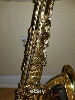 Yamaha Yts-52 Tenor Saxophone And Case