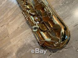 Yamaha Yts 52 Tenor Saxophone Purple Label 001193 With Protech Case