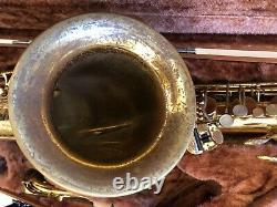 Yamaha Yts-62 Tenor Saxophone Purple Logo+ New Pads + New Corks