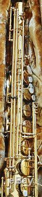 Yanagisawa T880 880 Tenor Saxophone Gold Lacquer with Original Case Very Good