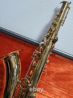 Yanagisawa T-400 tenor saxophone with hard case good condition from japan