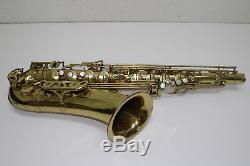 Yanagisawa T-4 Dorado 500 Tenor Saxophone with Case 273267 Rare Vintage