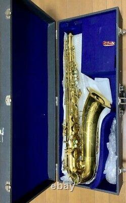 Yanagisawa Tenor Sax Prima T500 with hard case Adjusted good condition