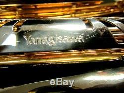 Yanigasawa Brass Tenor Saxophone 901 with Hard Case
