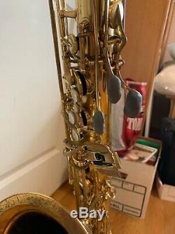 Yanigasawa Brass Tenor Saxophone T901 with Protec Case